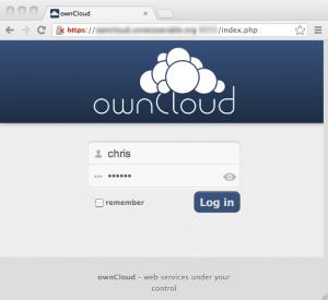 owncloud-weblogin